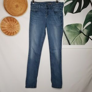 Anthro Level 99 Liza Skinny Jeans Medium Wash